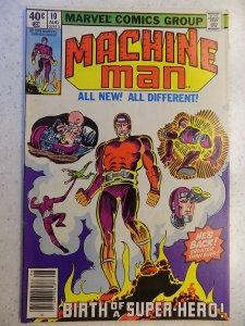 MACHINE MAN # 10 MARVEL ACTION ADVENTURE DITKO WOLKMAN
