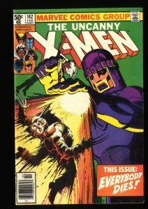 X-Men #142 VF- 7.5 Days of Future Past! Marvel Comics