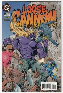 Loose Cannon #2 July 1995 DC