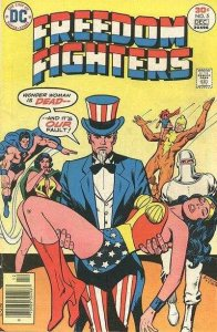 Freedom Fighters (1976 series) #5, NM- (Stock photo)
