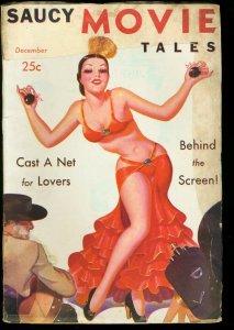 SAUCY MOVIE TALES 1937 DEC-RARE PULP G