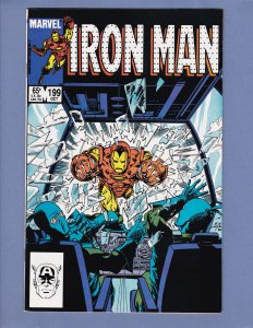 Iron Man #199 NM- Marvel 1985