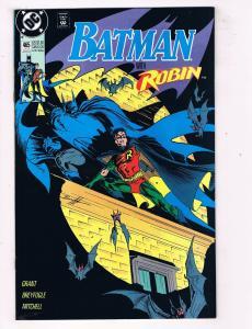 Batman #465DC Comic Book Robin Tim Drake Batcave Commissioner Gordon HH1