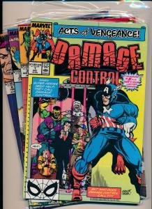 Marvel Complete Series Act of Vengeance DAMAGE CONTROL Vol 2-#1-4 VF/NM (PF250)