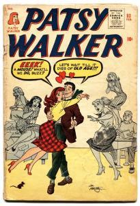 Patsy Walker #93 1961-Marvel-paper dolls -comic book