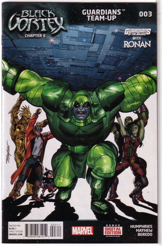 Guardians Team-Up (vol. 1, 2015) #  3 VF/NM Ronan (Black Vortex 6) Humphries