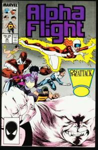 ALPHA FLIGHT #48-MARVEL COMICS-MUTANTS! NM