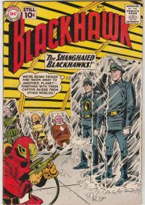 Blackhawk #160 (May-61) FN/VF+ High-Grade Black Hawk, Chop Chop, Olaf, Pierre...