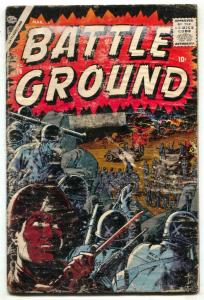 Battle Ground #16 1957- Atlas War comic- FAIR