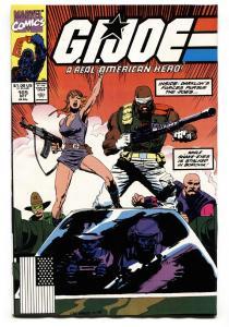 G.I. JOE #105 1990- comic book - Snake Eyes VF/NM