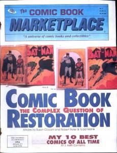 Comic Book Marketplace Fanzine #6 Comic Restoration
