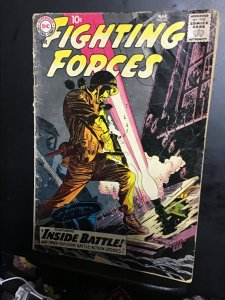 Our Fighting Forces #43 (1959) 1950s DC war comic! GD Wow!