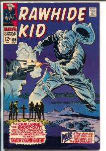 Rawhide Kid #66 1968-Marvel-Stan Lee-Larry Leiber-Bill Everett-Two Gun Kid-NM