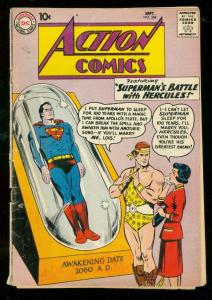 ACTION COMICS #268 1960-SUPERMAN-HERCULES-SUPERGIRL-good plus G+