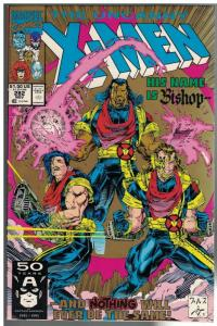 X MEN 282  VG-F (2ND PRINT) Nov. 1991