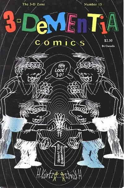 3-D Zone, The #15 VF/NM; 3-D Zone | save on shipping - details inside