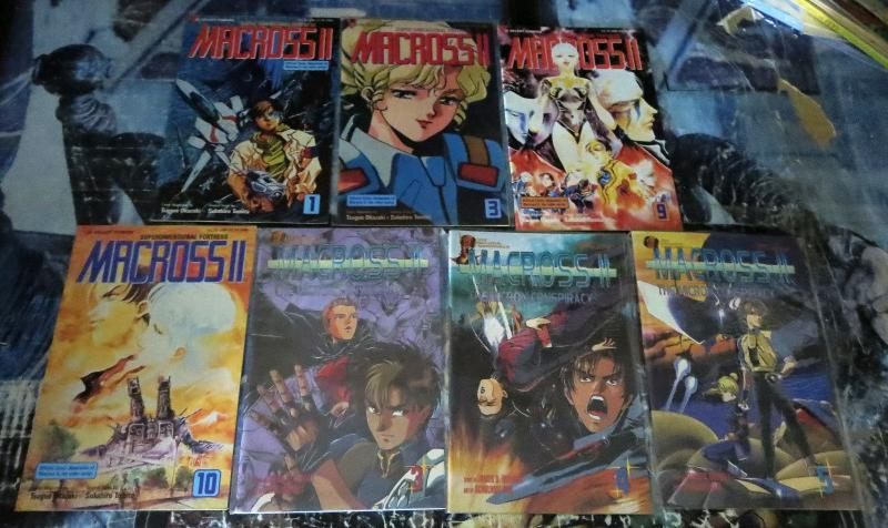 Kia Asamiya's Dark Angel Collection! 31 issues! CPM Fantasy Manga! Japan! VF-NM