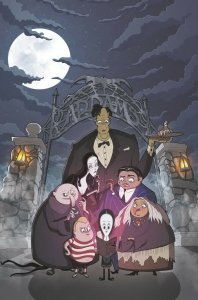 ADDAMS FAMILY THE BODIES (2019 IDW) #1 PRESALE-10/23