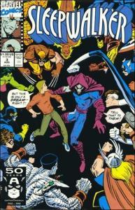 Marvel SLEEPWALKER #3 VF