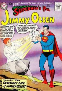 Superman's Pal Jimmy Olsen (1954 series) #40, Good+ (Stock photo)