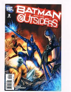 Batman And The Outsiders # 2 DC Comic Books Hi-Res Scans Awesome Issue WOW!!! S8