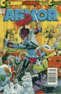 Armor and the Silver Streak (1995 series) #9, NM (Stock photo)