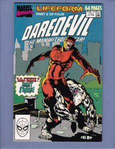 Daredevil Annual #6 NM- Typhoid Mary Marvel 1990