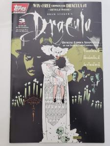 DRACULA #3, VF/NM, Mike Mignola, 1992, Topps, Factory sealed, more in store