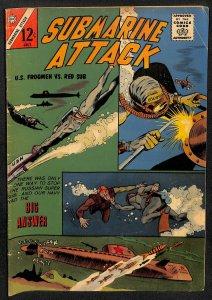 Submarine Attack #40 (1963)