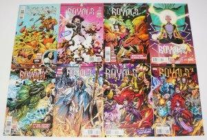 Royals #1-12 VF/NM complete series - inhumans - al ewing - marvel comics set lot