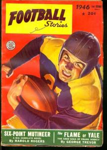 FOOTBALL STORIES 1946 1ST FALL-CLASSIC GEORGE GROSS CVR FN