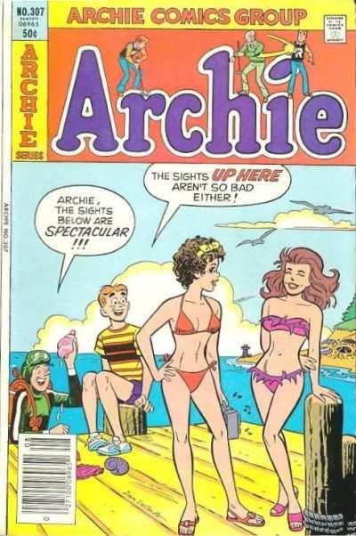Archie Comics #307, VF (Stock photo)