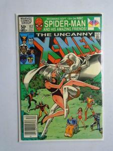 X-Men (1st Series) #152, Newsstand Edition, Water Stain 4.5 - 1981