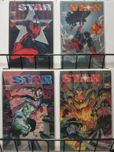 STAR (1995 IM) 1-4 SAVAGE DRAGON SPIN OFF; T & M BIERBA