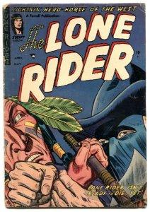 Lone Rider #19 1954- Western Golden Age comic G