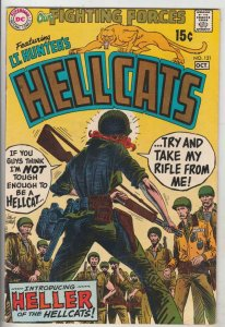 Our Fighting Forces #121 (Oct-69) NM- High-Grade Lt. Hunter's Hellcats