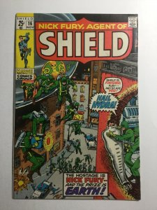 Nick Fury Agent Of Shield 16 Vf- Very Fine- 7.5 Marvel Comics