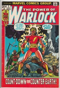 Warlock, the Power of  #2 (May-72) VG/FN Mid-Grade Warlock