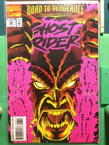 Ghost Rider #43 vol 2 Road to Vengeance