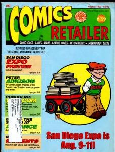 Comics Retailer 1989-info on selling comic books-FN