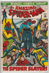 Amazing Spider-Man #105 (Feb-72) FN+ Mid-High-Grade Spider-Man