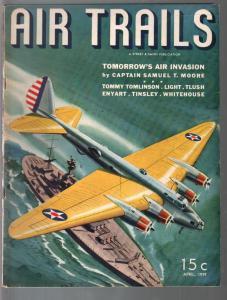 Air Trails 4/1939-Tomorrow's Air Invasion-Frank Tinsley-Whitehouse-FN