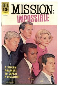 Mission Impossible #4 1968-Dell TV Comic- FN-