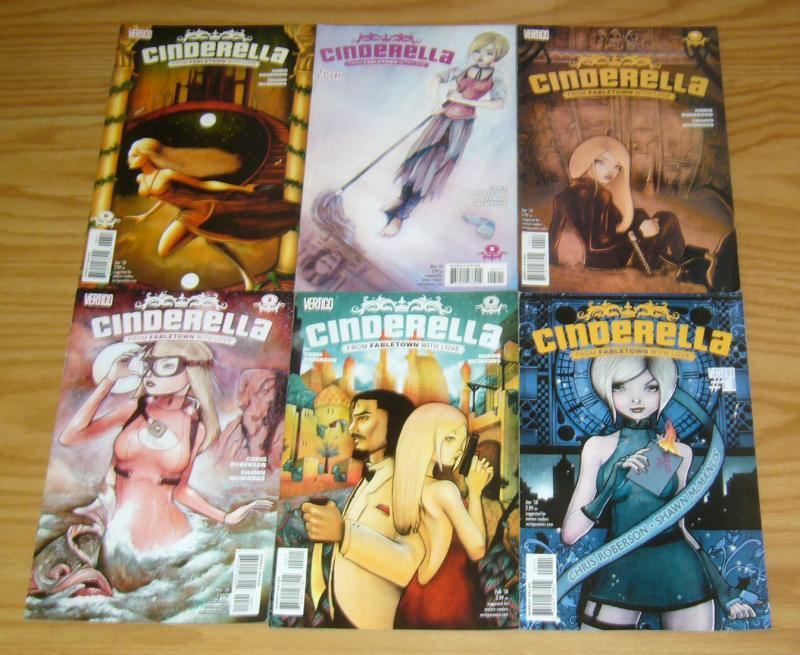 Cinderella: From Fabletown With Love #1-6 VF/NM complete series - fables spinoff