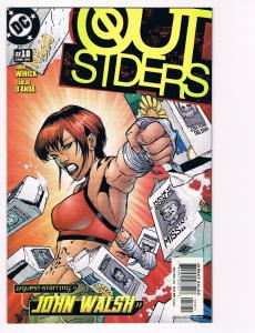 Outsiders # 18 DC Comic Books Awesome Issue Modern Age NIghtwing Metamorpho! S24