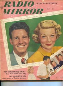 Radio And Television Mirror-Ozzie&Harriet Nelson-Bob Hope-Apr-1949
