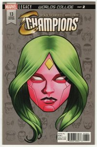 Champions #13 | Legacy Headshot Variant  (Marvel, 2017) VF/NM