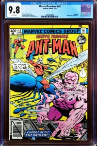 Marvel Premiere 48 CGC 9.8 2nd Ant-Man Marvel 1979