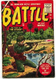 Battle Comics #40 1955- Russ Heath cover VG+