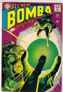 Bomba the Jungle Boy #6 (Aug-68) FN+ Mid-High-Grade Bomba